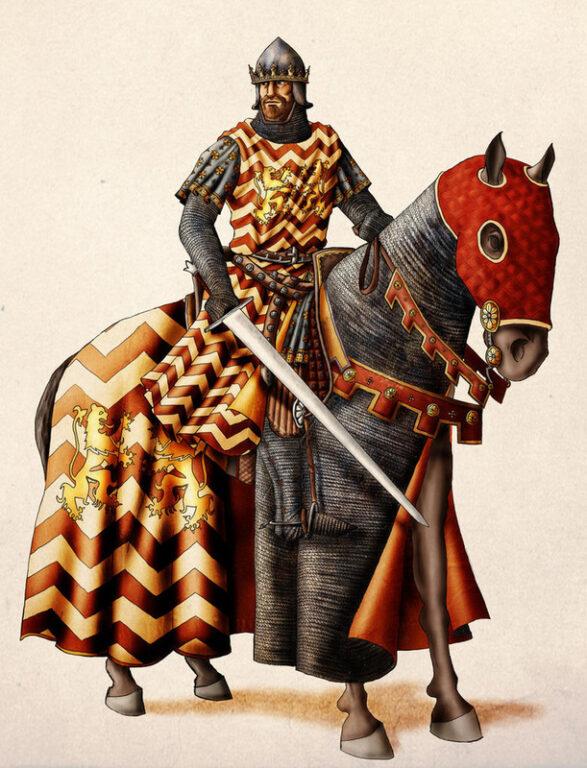 Angevin king