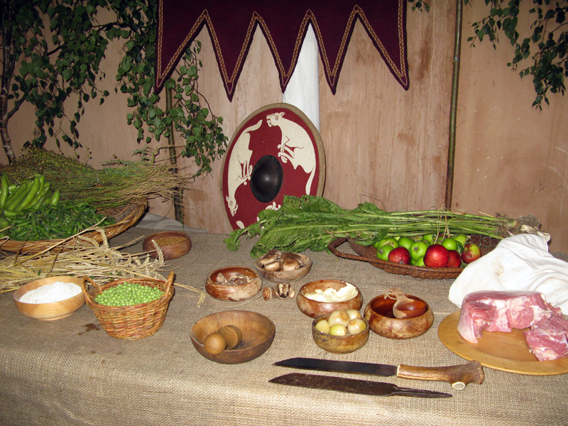 Anglo-Saxon Food Facts