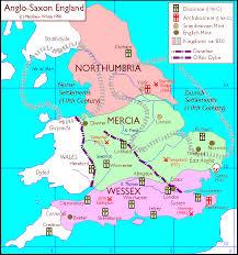Anglo-Saxon Map