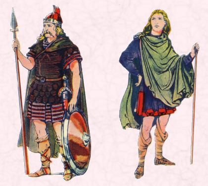 Anglo Saxon Men Clothing