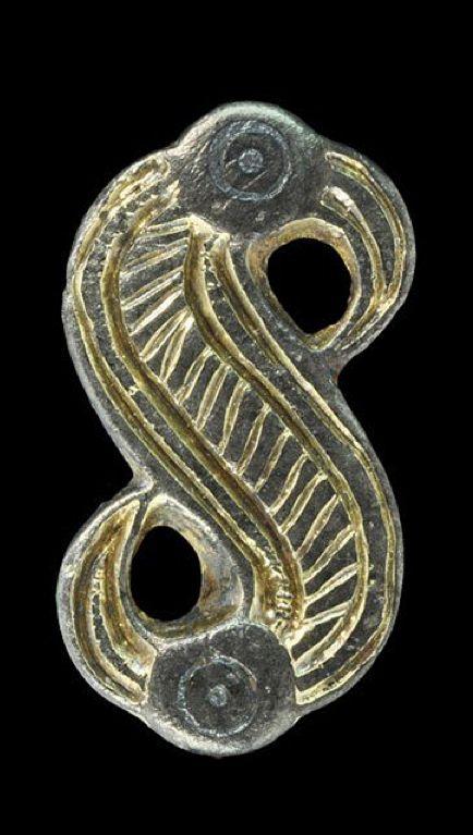 Anglo Saxon Silver Bird Brooch