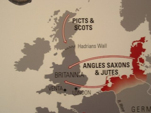 Anglo-Saxon and Viking Invasion