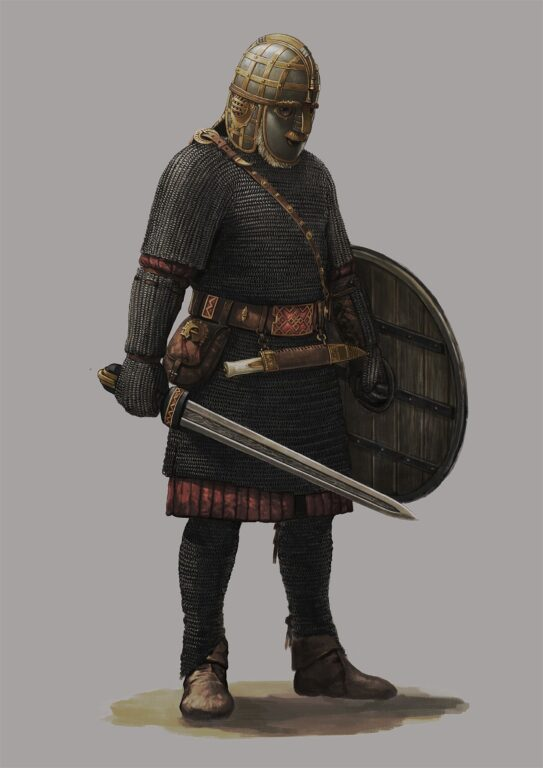 Anglo-Saxon armour