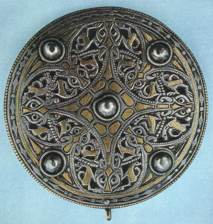 Anglo-Saxon shield