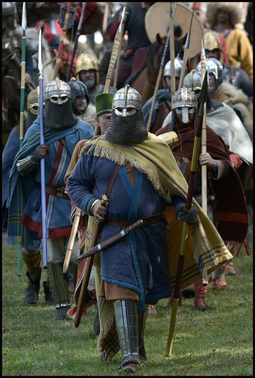 Anglo-Saxon soldiers