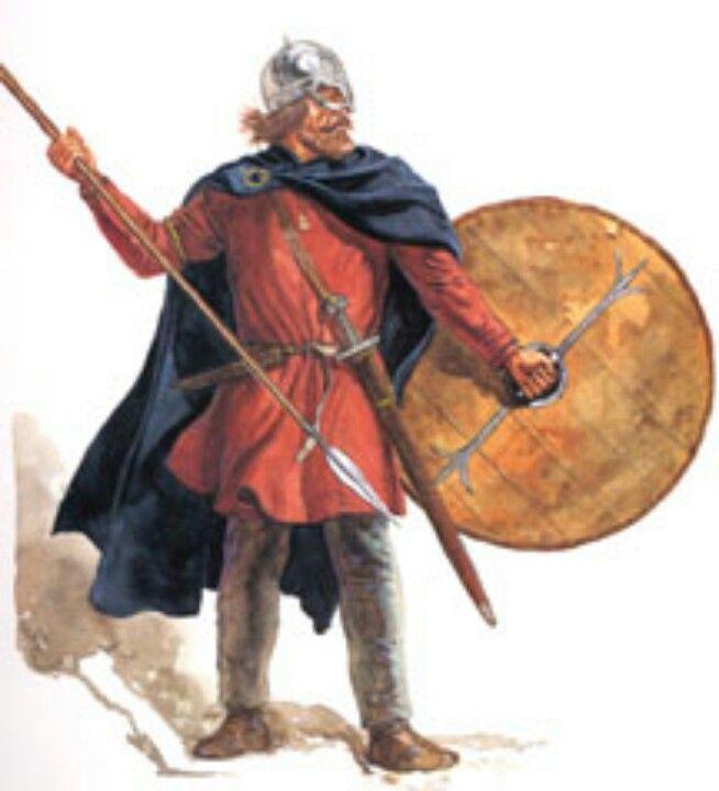 Anglo-Saxon warrior costume