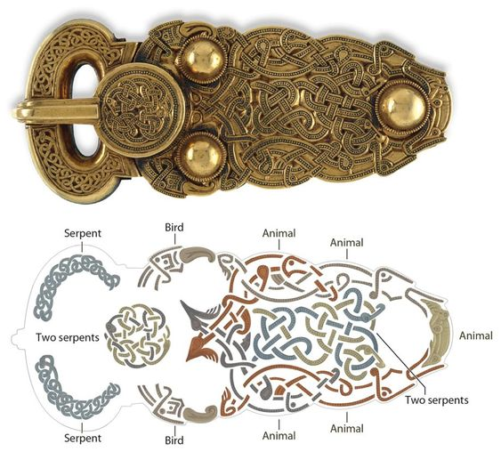 Animal Salad-Anglo Saxon Symbol Style I