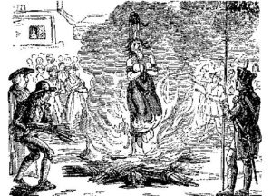 Anne Williams burned at the stake
