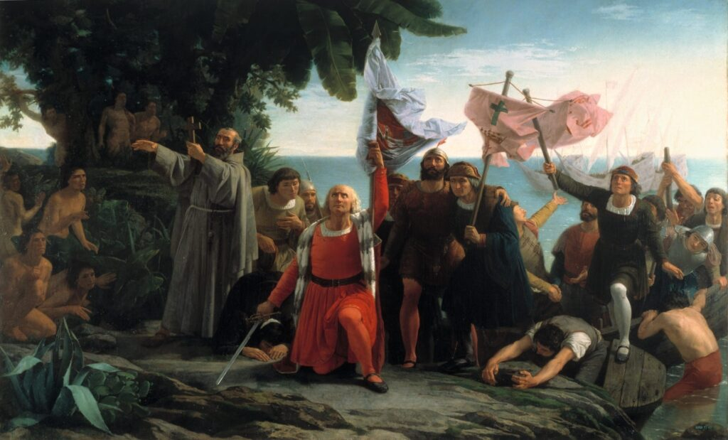 Christopher Columbus important events