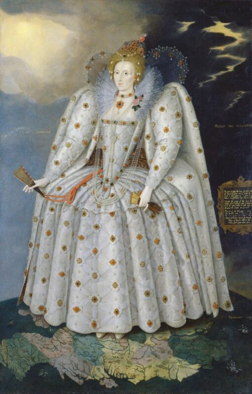 Elizabeth I By Marcus Gheeraerts the Young