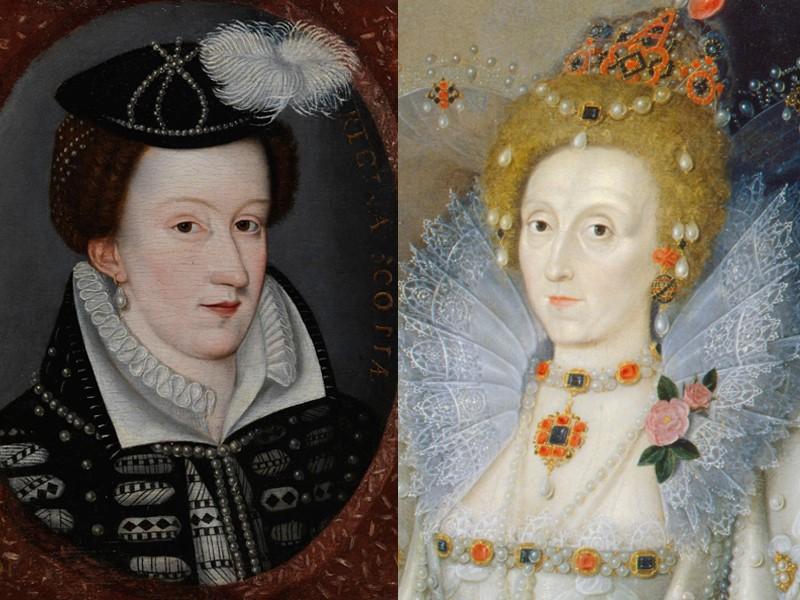 Queen Elizabeth and Mary, Queen of Scots