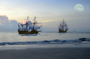 Elizabethan Pirate Ships
