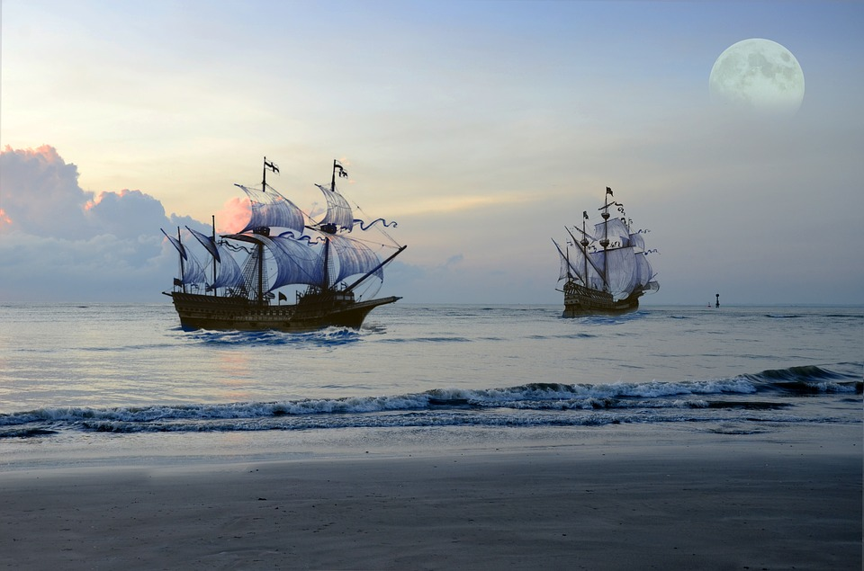 Pirate Ships: Information on Brigantine, Frigate and Schooner