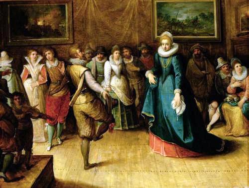 Elizabethan rich dance
