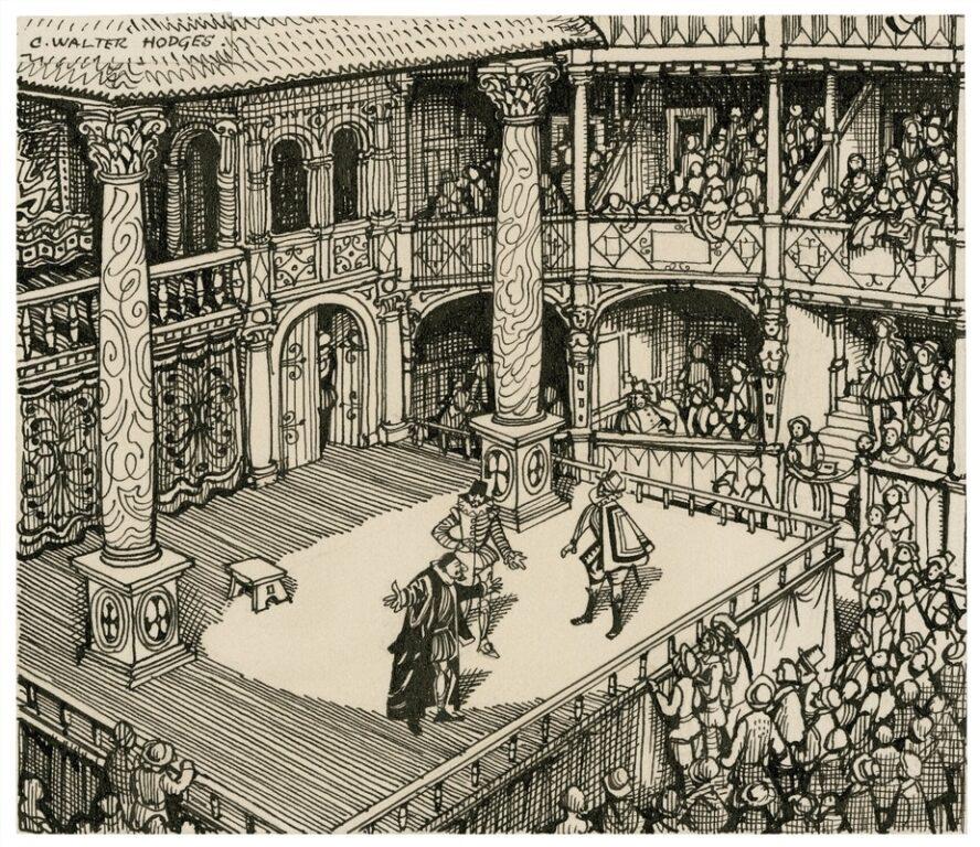 Elizabethan theatre audience