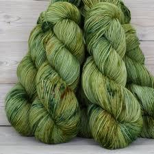 Green Lichen Dye