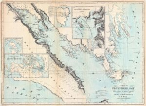 Hall Map of Frobisher Bay