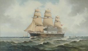 HMS Penelope by Henry Morgan