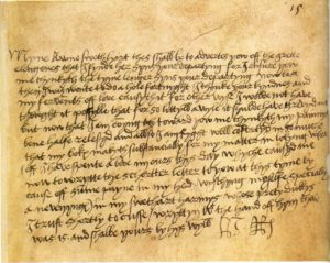 Henry VIII Love Letters to Jane Seymour