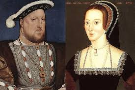 Henry VIII and Anne Boleyn