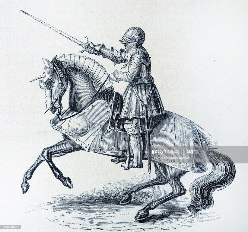 Henry VIII battle armour