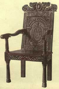 Jacobean chairs design