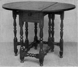 Jacobean era tables