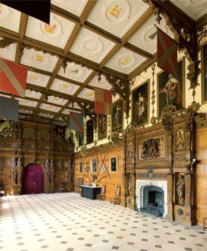 Jacobean ceiling