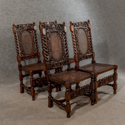 Jacobean dining chairs