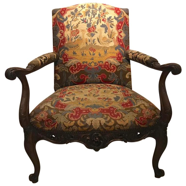 Jacobean floral chairs