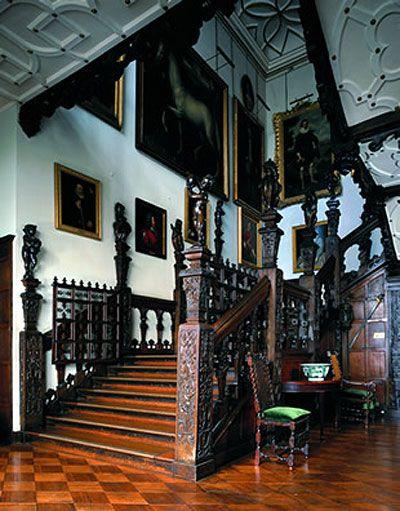 Jacobean staircase