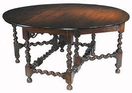 Jacobean table