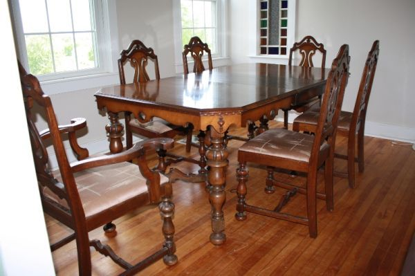 Jacobean tables and chairs