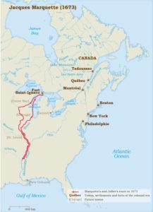 Jacques Marquette Route