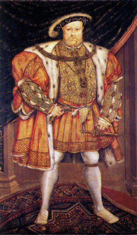 King Henry VIII fashion