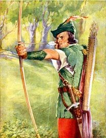 Lincoln Green was worn by Robin Hood