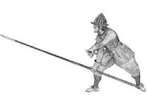 Men Handling Pike