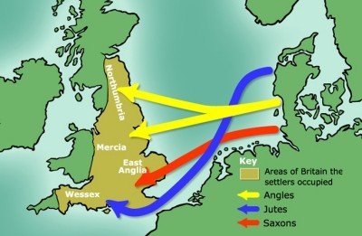 Migration of Angles, Saxons, and Jutes