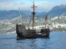 Santa Maria Columbus Replica Sailing Vessel Funchal