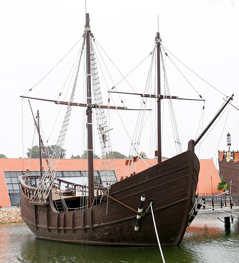 Pinta Ship of Christopher Columbus