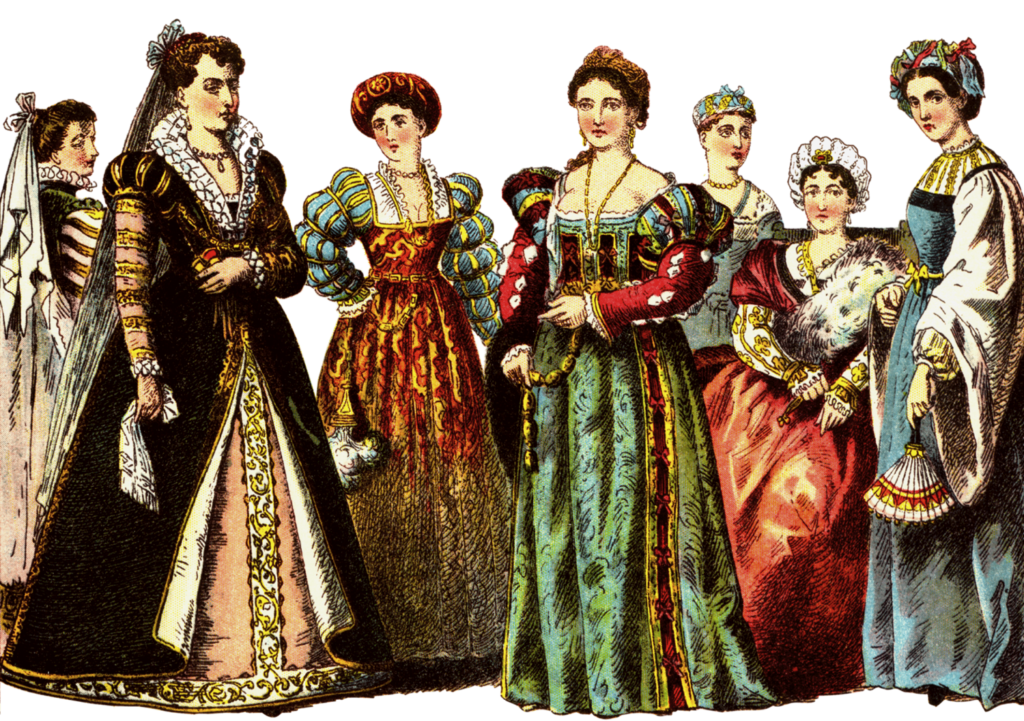 Sumptuary laws women clothing