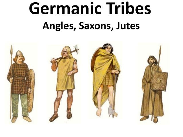 The Anglo-Saxon Tribes