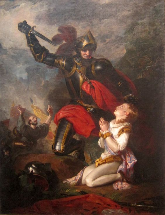 The Murder of Edmund by Lord Clifford