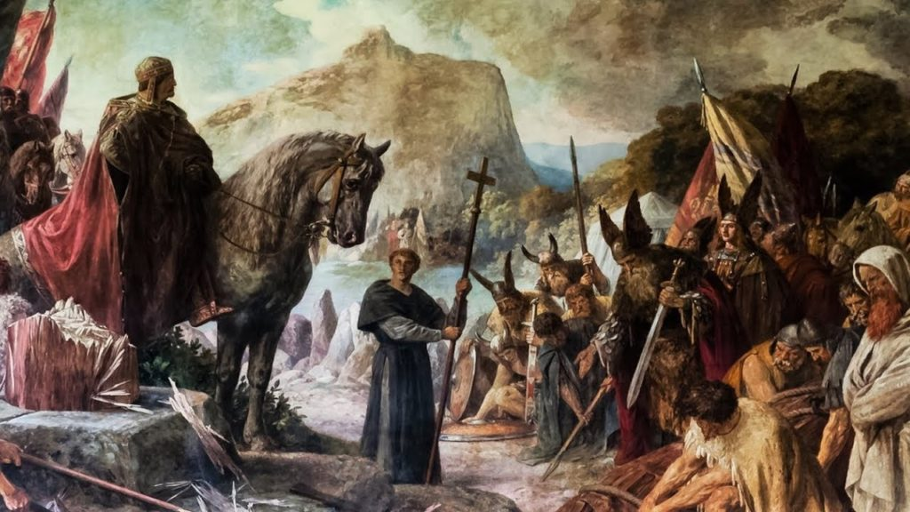 The Saxon War of Charlemagne