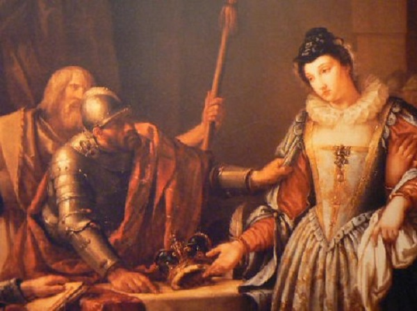 The Abdication of Mary Queen of Scots in 1568