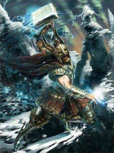 God of Thunder and Lightening