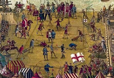 Tudor outdoor games