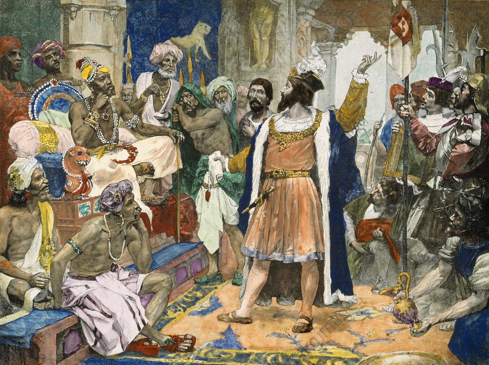 Vasco da Gama in India