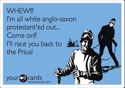White Anglo-Saxon Protestant Meme