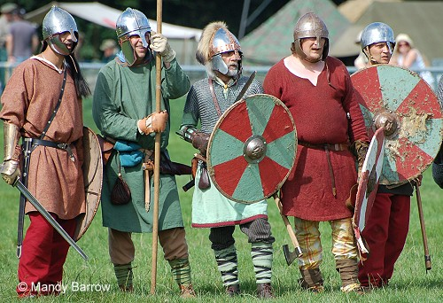 Warrior Tribe clothes in Anglo Saxon Era